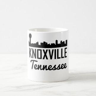 Caneca De Café Skyline de Knoxville Tennessee