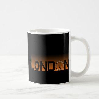Caneca De Café Skyline de Londres