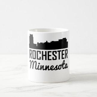 Caneca De Café Skyline de Rochester Minnesota