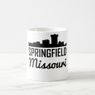 Caneca De Café Skyline de Springfield Missouri