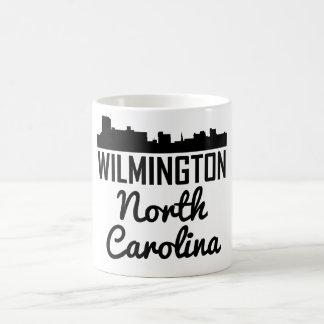 Caneca De Café Skyline de Wilmington North Carolina