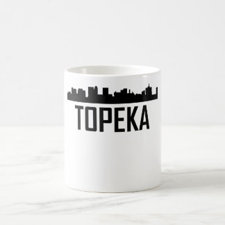 Caneca De Café Skyline do Topeka Kansas City