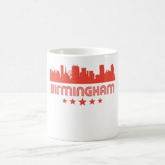 Caneca De Café Skyline retro de Birmingham
