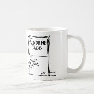 """Caneca De Café Slimming o clube tem dizer do sinal """"ido para"""