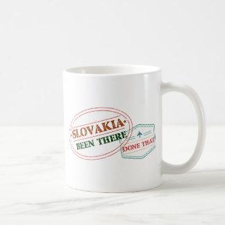 Caneca De Café Slovakia feito lá isso