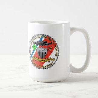 """Caneca De Café Smilax WLIC-315 """"rainha de USCGC da frota """""""