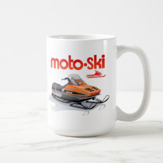 Caneca De Café snowmobile do esqui do moto