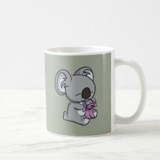 Caneca De Café Snuggles doces! Koala