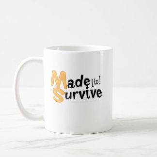 Caneca De Café Sobreviva à esclerose múltipla Awarness