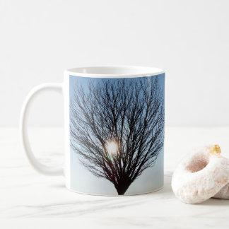 Caneca De Café sol do inverno