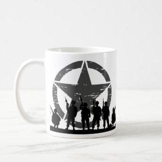 Caneca De Café Soldados