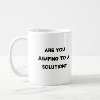 Caneca De Café Soluções de A3 Sensei