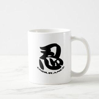 Caneca De Café Sombreie o símbolo de Nin do wiith do logotipo do