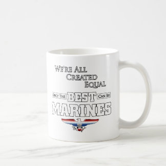 Caneca De Café Somente o melhor é fuzileiros navais