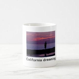 Caneca De Café sonho de Califórnia