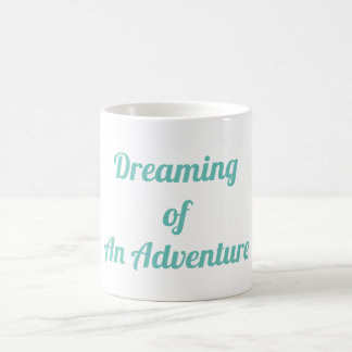 Caneca De Café Sonho de uma aventura
