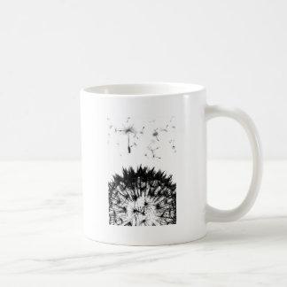 Caneca De Café Sonhos do dente-de-leão