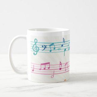 Caneca De Café Sons da música