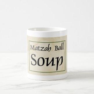 Caneca De Café Sopa da bola do Matzah
