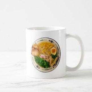 Caneca De Café Sopa de macarronete dos Ramen da carne de porco