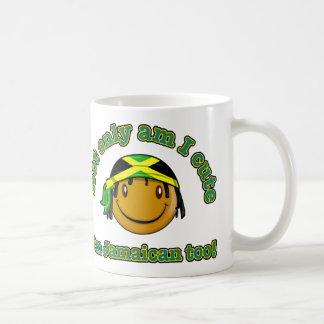 Caneca De Café Sou não somente eu bonito mim sou jamaicano