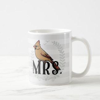 Caneca De Café Sra. Cardinal Sr. e Sra. Seu e dela