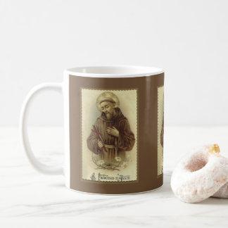 Caneca De Café St Francis do santo padroeiro de Assisi dos