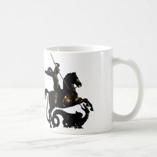 Caneca De Café St George que massacra o dragão