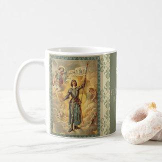 Caneca De Café St. Joana de anjos Soldie de St Michael do arco