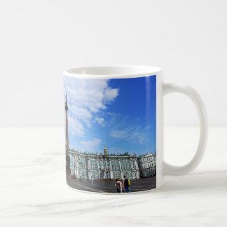 Caneca De Café St Petersburg, palácio do inverno & coluna de