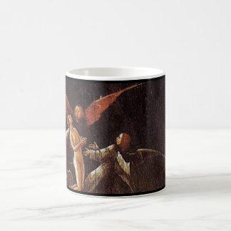 Caneca De Café Subida da abençoada, por Hieronymus Bosch