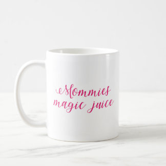 Caneca De Café Suco da mágica das mamãs