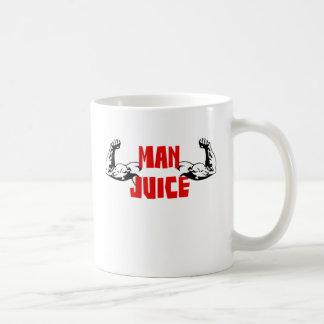 Caneca De Café Suco engraçado do homem