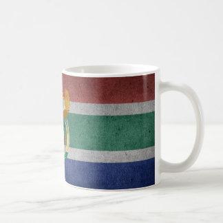 Caneca De Café Sul - bandeira africana