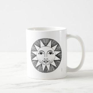 Caneca De Café Sun de sorriso