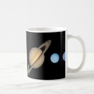 Caneca De Café Sun e planetas