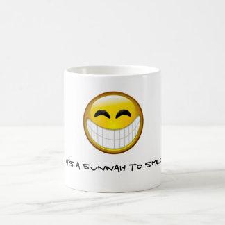 Caneca De Café Sunnah a sorrir