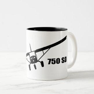 Caneca de café super do dever do zénite 750