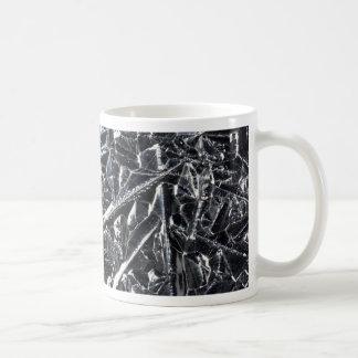 Caneca De Café Superfície de cristais puros do silicone