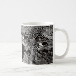 Caneca De Café superfície lunar
