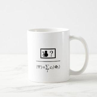Caneca De Café Superposição do quantum
