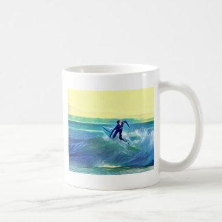 Caneca De Café Surfista