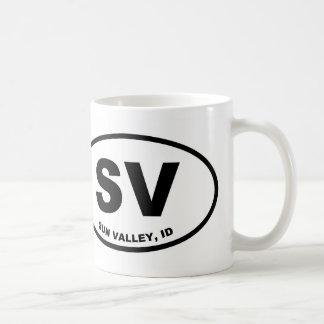 Caneca De Café SV Sun Valley, Idaho