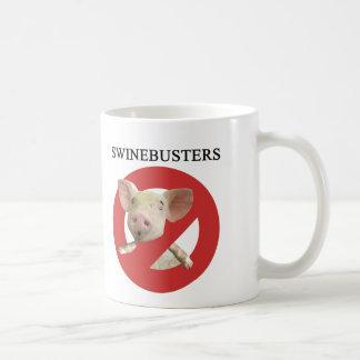 Caneca De Café Swinebusters!