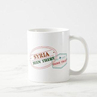 Caneca De Café Syria feito lá isso