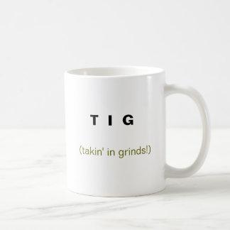 Caneca De Café T mim G, (takin nas moagens!)