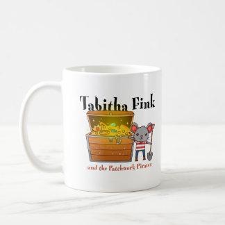 Caneca De Café Tabitha Fink e piratas dos retalhos