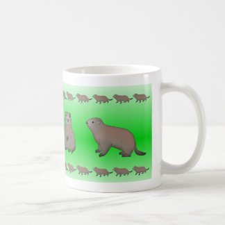 Caneca De Café Taça de marmota