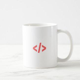 Caneca De Café Tag de programação