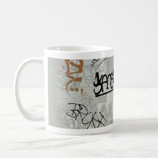 Caneca De Café Tag! Grafites na caneca!